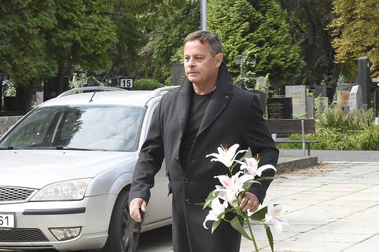 Filip Renč se přišel rozloučit se Zdenkou Procházkovou, kterou obsadil do role Lídy Baarové.