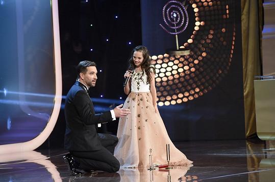 Charlotte s moderátorem Ondřejem Sokolem