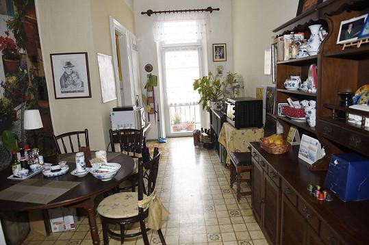 Kuchyně je zase králostvím Evy Hruškové.