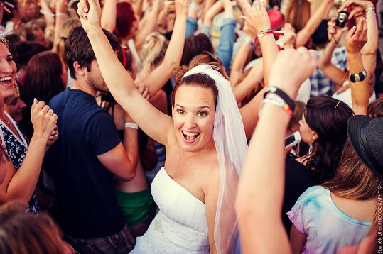 Únos nevěsty na koncertě Richarda Krajča