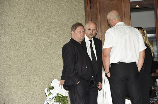 Syn Ivo Pavlíka a Věry Špinarové před obřadem