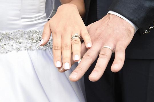 Prstýnky novomanželů