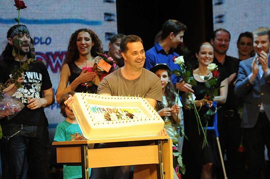 Martin Dejdar oslavil padesáté narozeniny.