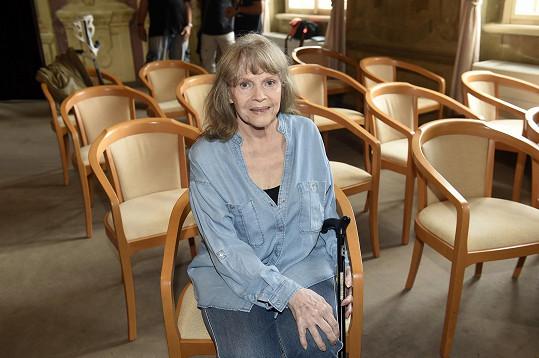 Eva Pilarová se na klinice nefrologie léčí se zánětem v těle. Fanoušci si na její koncerty ještě budou muset počkat.