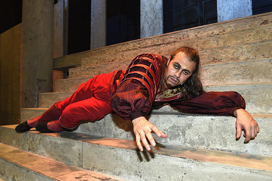 Tomáš Beroun v muzikálu Romeo a Julie