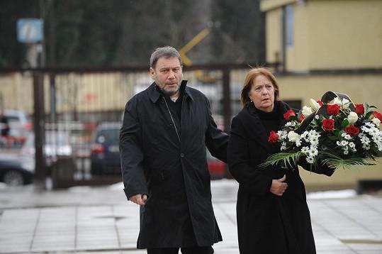 Tomáš Töpfer s manželkou