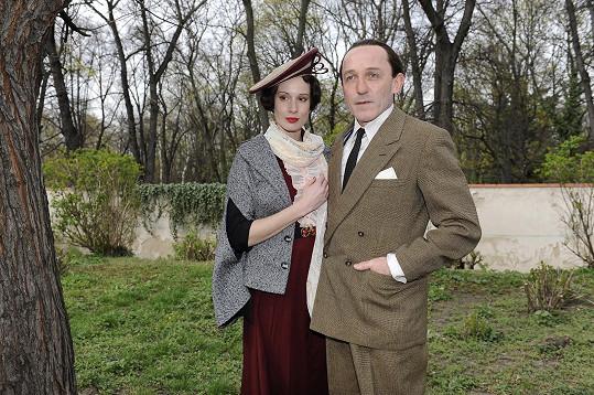 Táňa Pauhofová s hereckým kolegou Karlem Markovicsem