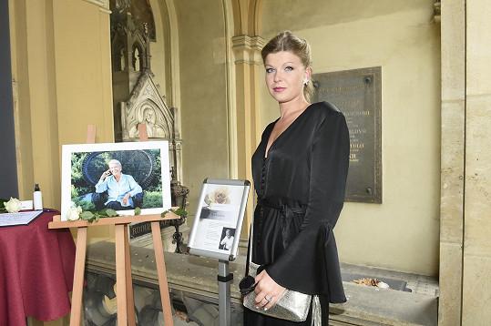...i jeho dcera sopranistka Karolína Žmolíková