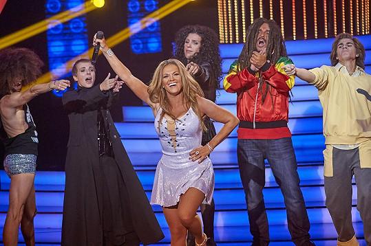 Jako Beyoncé druhý díl pořadu Marta vyhrála.