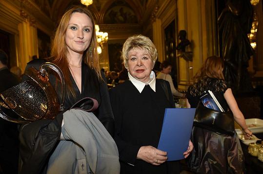 Alena Vránová s vnučkou Terezou