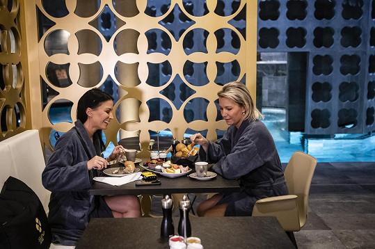 Gábina a její sestra Monika jsou velké kamarádky, rády spolu tráví čas.