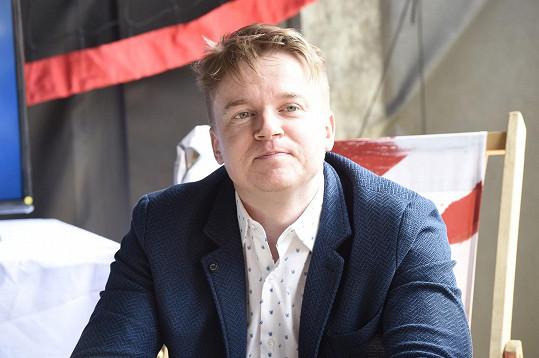 Petr Kolečko představoval na karlovarském filmovém festivalu nový film.