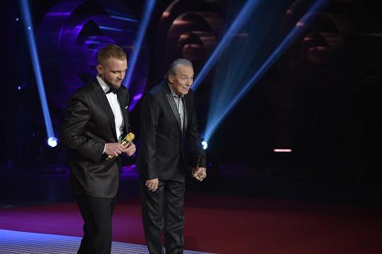 S moderátorem večera Liborem Boučkem
