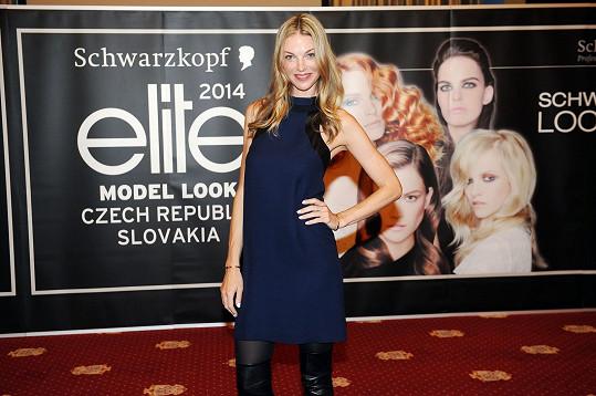 Pavlína Němcová je ambassadorkou soutěže Schwarzkopf Elite Model Look.