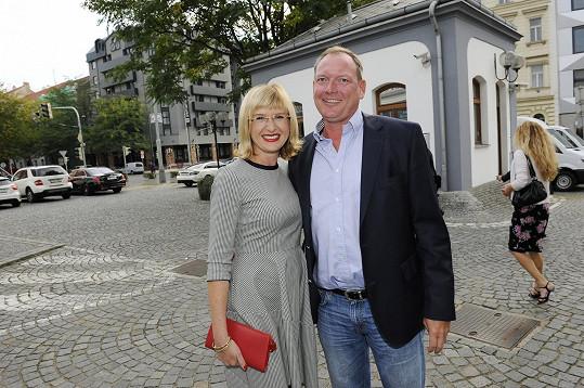 Štěpánka Duchková s přítelem Janem Hruškou