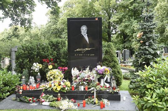 Letos uplynuly dva roky od zpěvákova úmrtí.