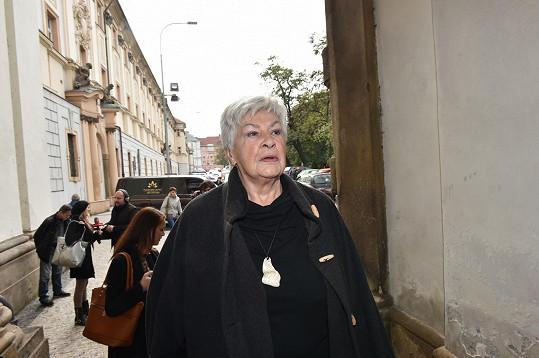 Moderátorka Kamila Moučková