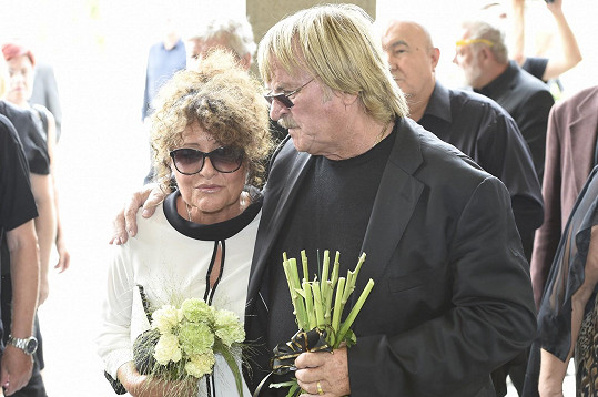 Jitka Zelenková s Karlem Vágnerem