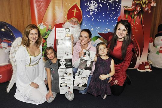 Herečka před časem nafotila kalendář Leporelo – Děti dětem 2017, který vznikl na podporu Národní sdružení PKU a jiných dědičných metabolických poruch.