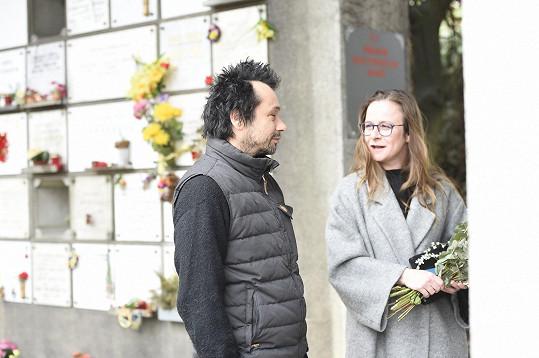 Pavel Liška a Petra Špalková