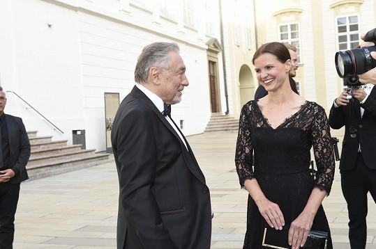 Karel Gott s Anetou Stolzovou