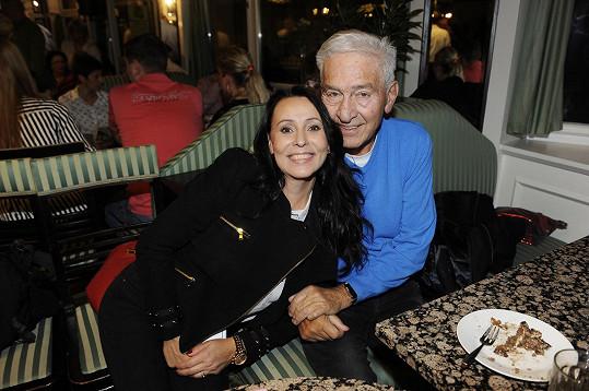S manželem Ivem Pavlíkem
