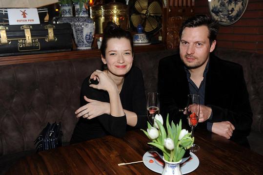 Marika s manželem Petrech Čechákem
