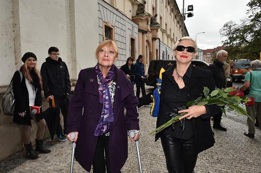 Jana Šulcová se jednu dobu neobešla bez berlí, nyní je opět musela vytáhnout.