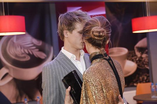 Zdeněk a Simona hráli ve filmu partnery.