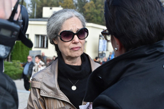 Bývalá partnerka Skoumala Taťana Fischerová byla zdrcená.