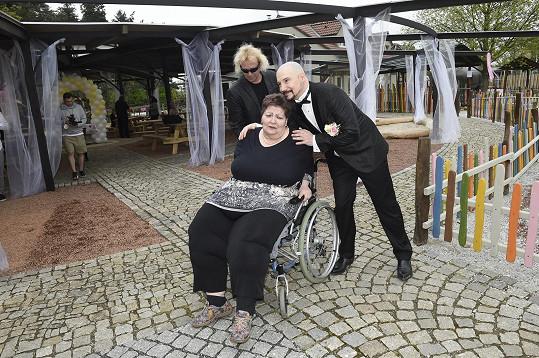 S paní doktorkou Věrou Baudyšovou.