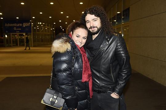 Miminko má s manželem Martinem.