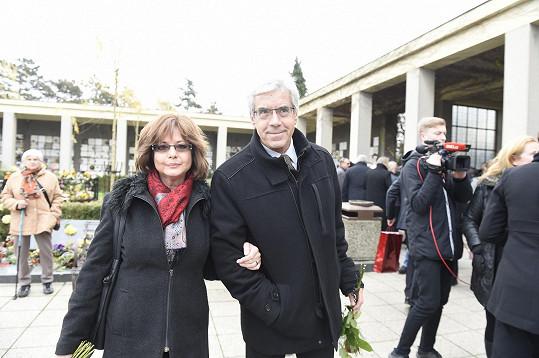 Marie Tomsová s manželem