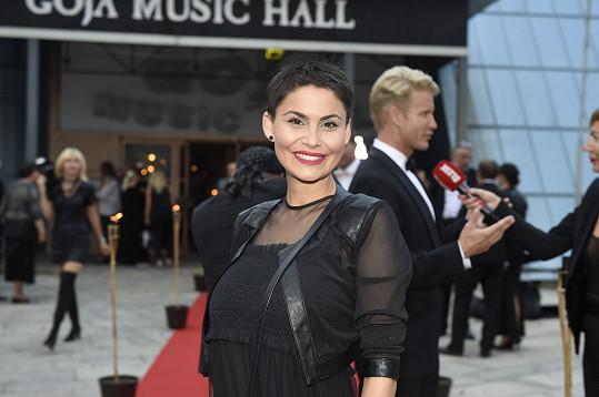 Na premiéře se překvapivě objevila i modelka Vlaďka Erbová.
