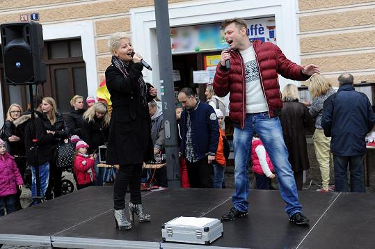 Zuzka Nová a Jarek Šimek
