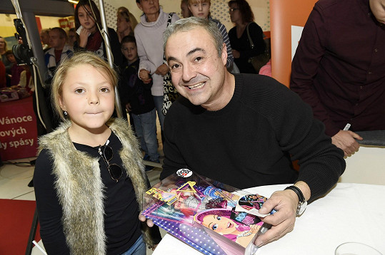 Martin Zounar s dcerou