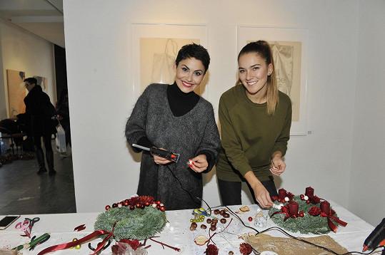 Akci podpořila i úřadující královna krásy Andrea Bezděková.