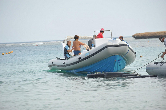 Na lodi potápěčů z Brayca Bay