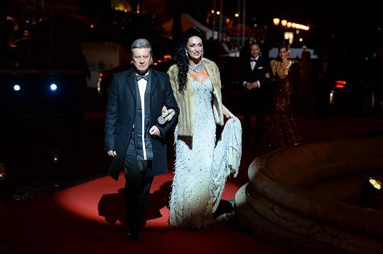 Sisa Lelkes Sklovska s manželem Jurajem