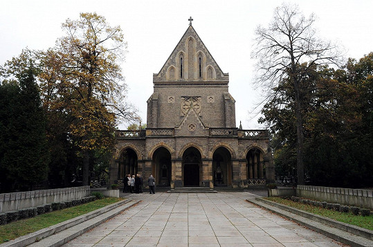 Kaple svatého Václava, kde se poslední rozloučení konalo.
