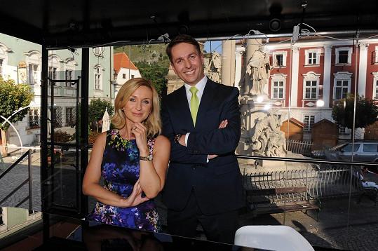S kolegou Tomášem Hauptvogelem.