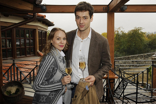 Radúz Mácha a Marta Drastíková jsou šťastní novomanželé.