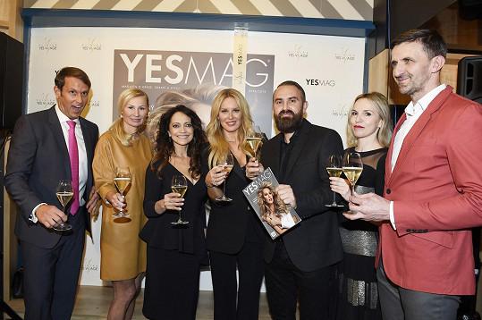 Křest časopisu Yes Mag