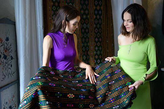 Novou kolekci značky Ecstatic Fashion autorsky zastřešují Lilia Khousnoutdinová a Ilona Bittnerová.