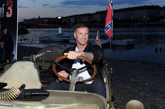 Petr Vágner miluje adrenalinové sporty.