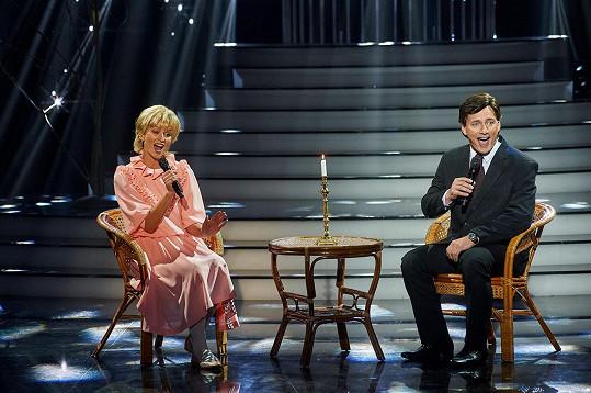 Adéla Gondíková a Petr Vondráček