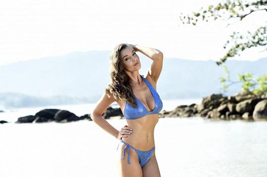 Iva má fantastické tělo.