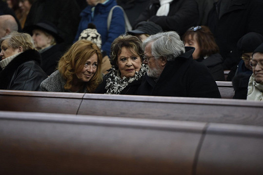 Simona Stašová, Jiřina Bohdalová a Jan Kačer