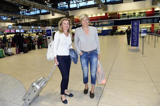 Leona Machálková a Kateřina Neumannová