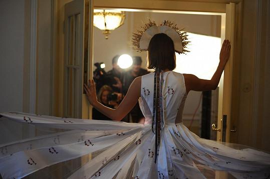 Výsledná fotka, která v tento moment vznikla, dostala pracovní název Carevna.